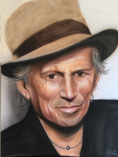 Keith Richards - Jeff's Art