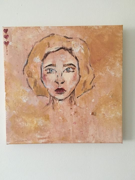 Queen of Hearts - Kind Canvas
