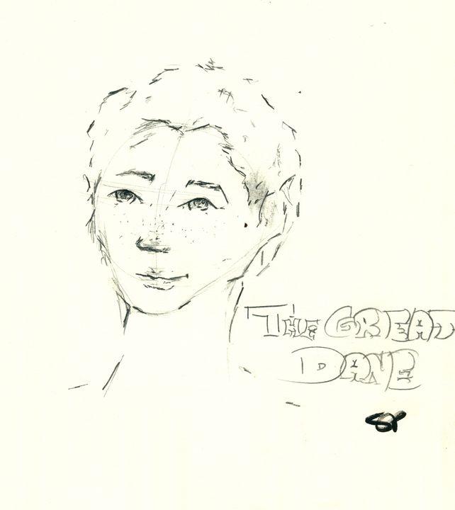 Great Dane - Kind Canvas