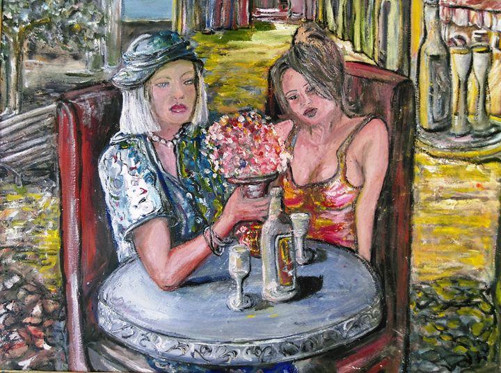 ART LUNCH LADIES BY JAIMS - jaims art studio