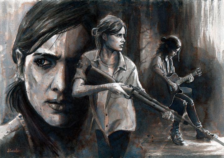 Ellie - Last of Us II - Gonzler
