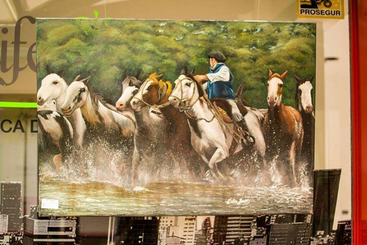 Argentine horses - Celin Buon
