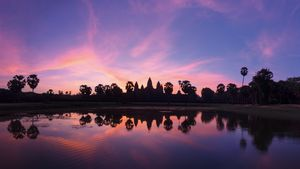 Stunning Angkor Sunrise
