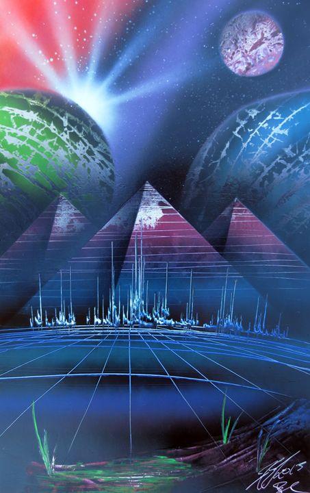 Pyramid Space City - Robin Seagrave