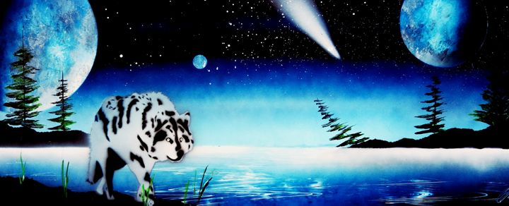 Night exploration - Art is Gold AU