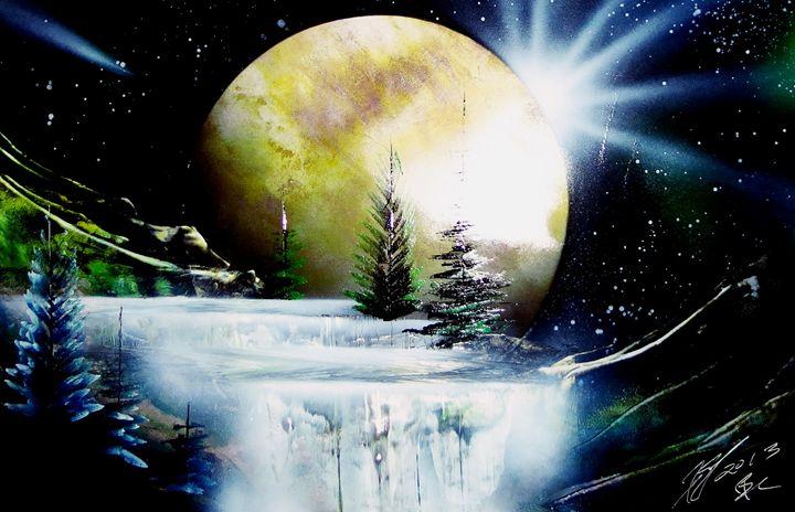 Mystic Falls - Art is Gold AU