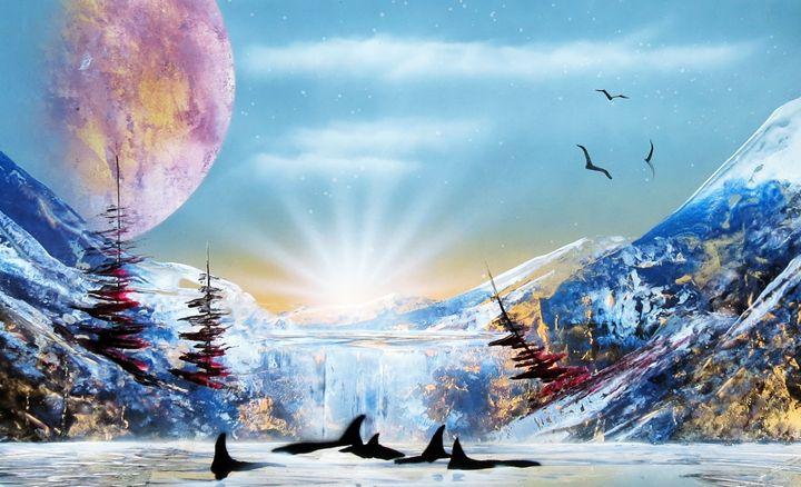 Orcas Island - Art is Gold AU