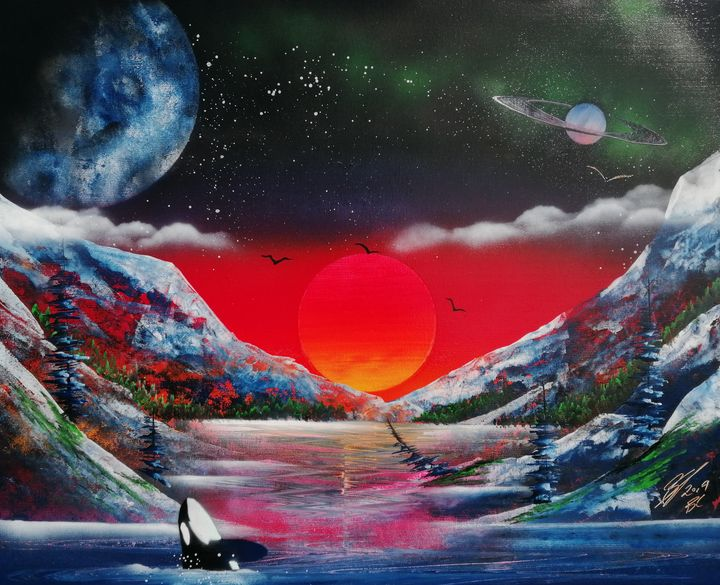 Colourful Cove - Art is Gold AU