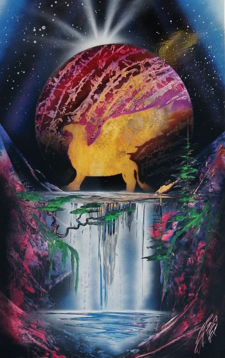Flowing waters - Art is Gold AU