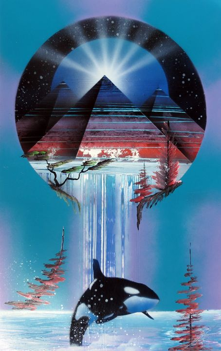 World within a world pyramid orca - Art is Gold AU