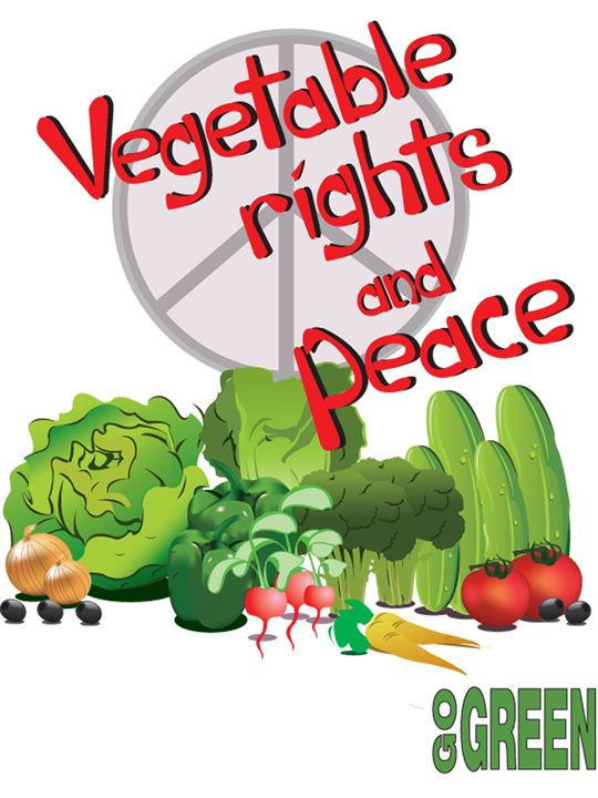 Vegetable Rights and Peace - Bill Chodubski