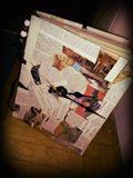 30x23cm clock book