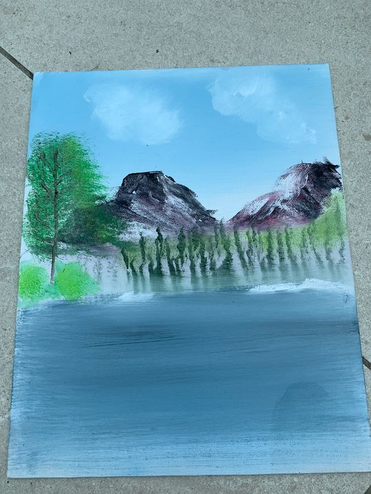 Mountains - Mikes paintings