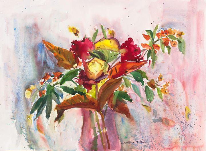 Autumn Roses - Gail H. McIntosh