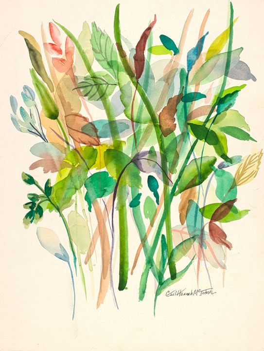 Leaves and Grasses - Gail H. McIntosh