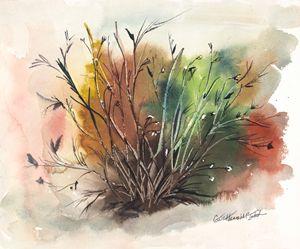 Fall Shrubbery - Gail H. McIntosh
