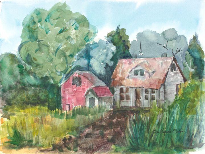 Barn Yard - Gail H. McIntosh