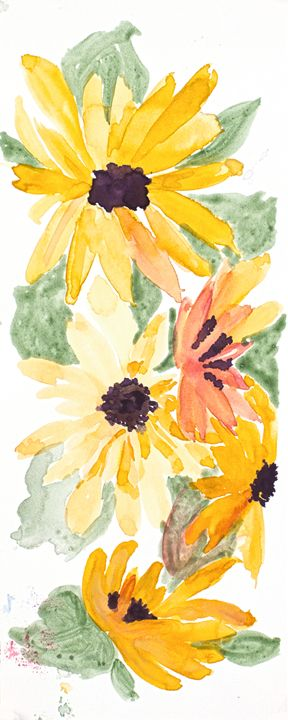 Yellow Daisy - Gail H. McIntosh