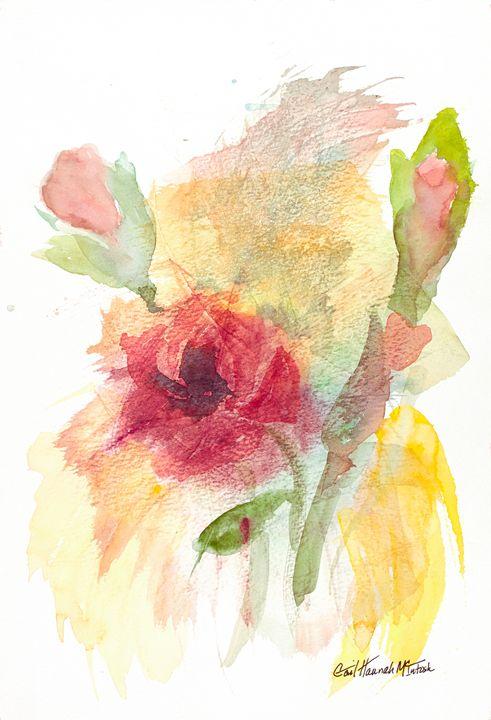 Impressionist Rose - Gail H. McIntosh