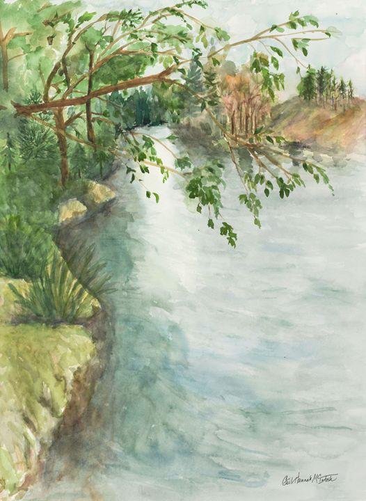Lake George Shore New York - Gail H. McIntosh