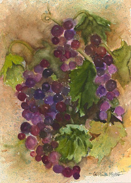 Grapes - Gail H. McIntosh