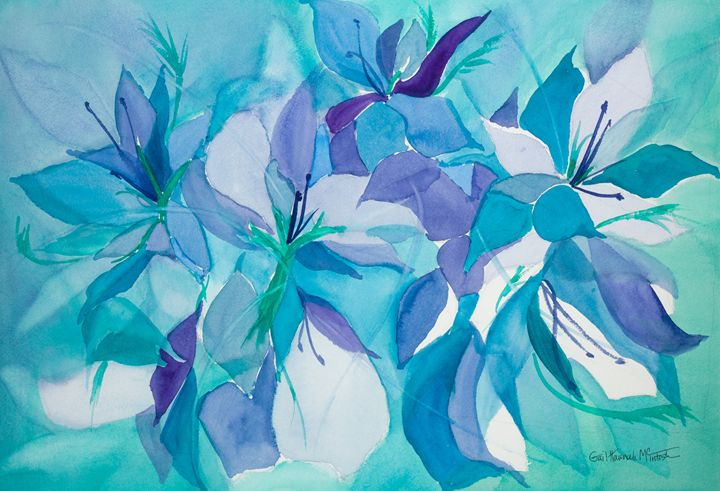 Blue on Blue - Gail H. McIntosh