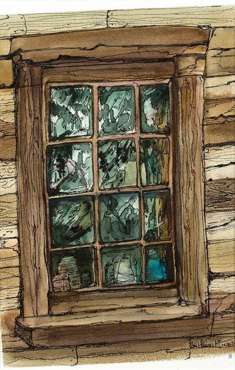 Window at Penn-Alps - Gail H. McIntosh