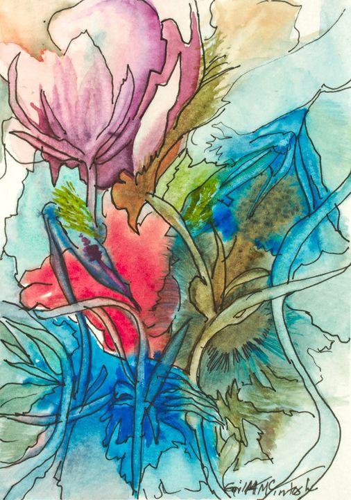 Floral Card - Gail H. McIntosh