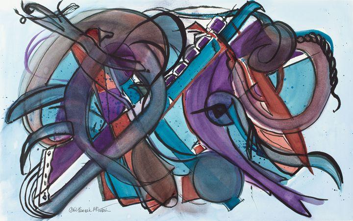 Jazzy Flute - Gail H. McIntosh