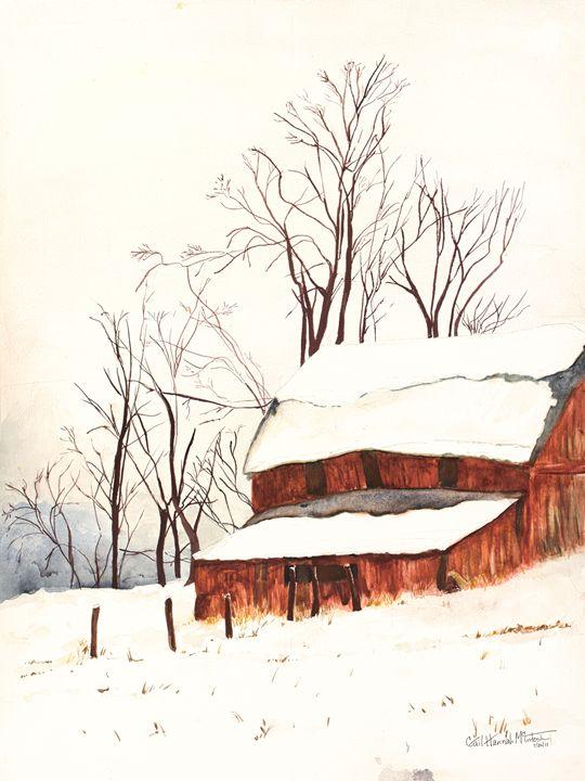 Snow Barn - Gail H. McIntosh