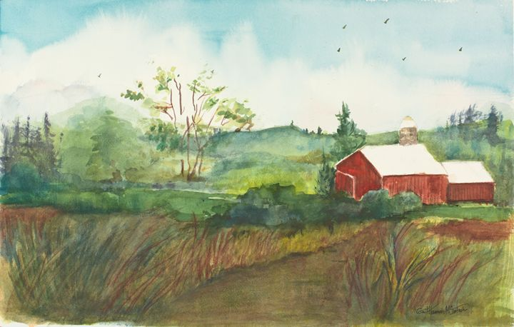 Red Barn - Gail H. McIntosh