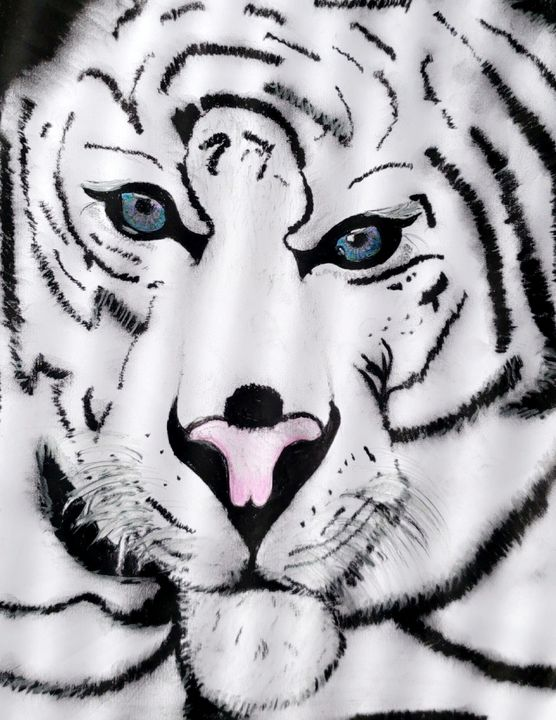 White tiger - Tays drawings