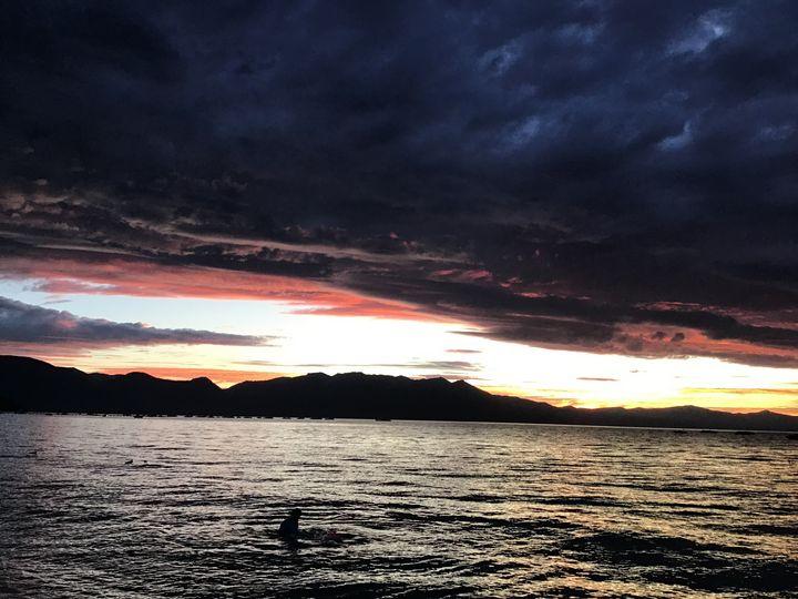 Tahoe Sunset - Sierra Artist Gallery