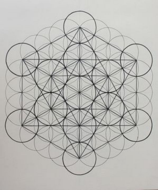 Metatron's Cube - Sierra Artist Gallery