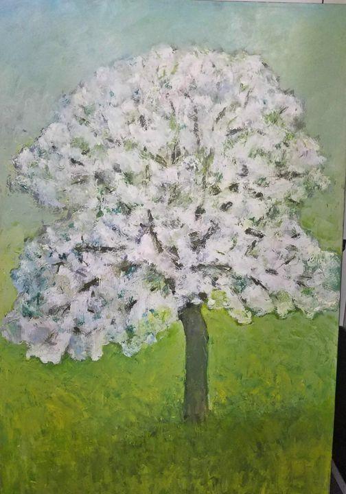 Pommier en Fleur II - Albert Hadjiganev