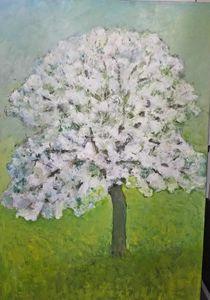Pommier en Fleur II