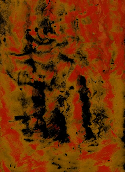 Dancing Four - Abstractly Abraham