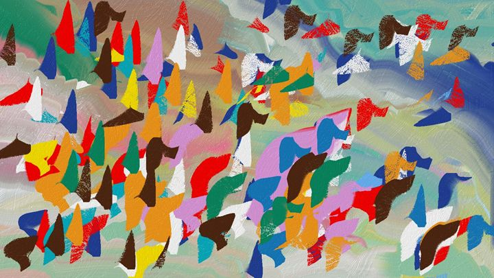 Angel Flight 1 - Abstractly Abraham