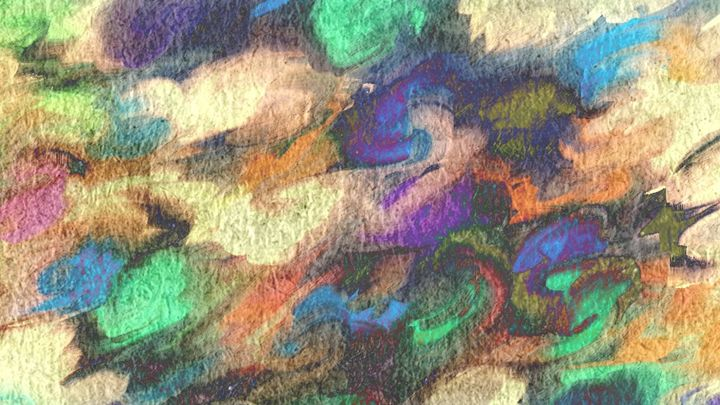 Blooming Agua Quattro - Abstractly Abraham