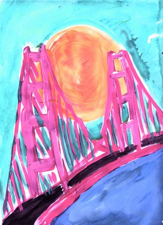 Golden Gate Sunshine - Abstractly Abraham