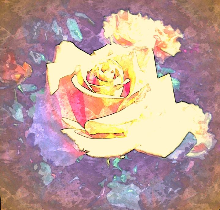 Easter Rose - Abstractly Abraham