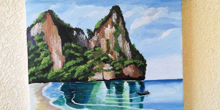 Rocky view - Amritha's Art