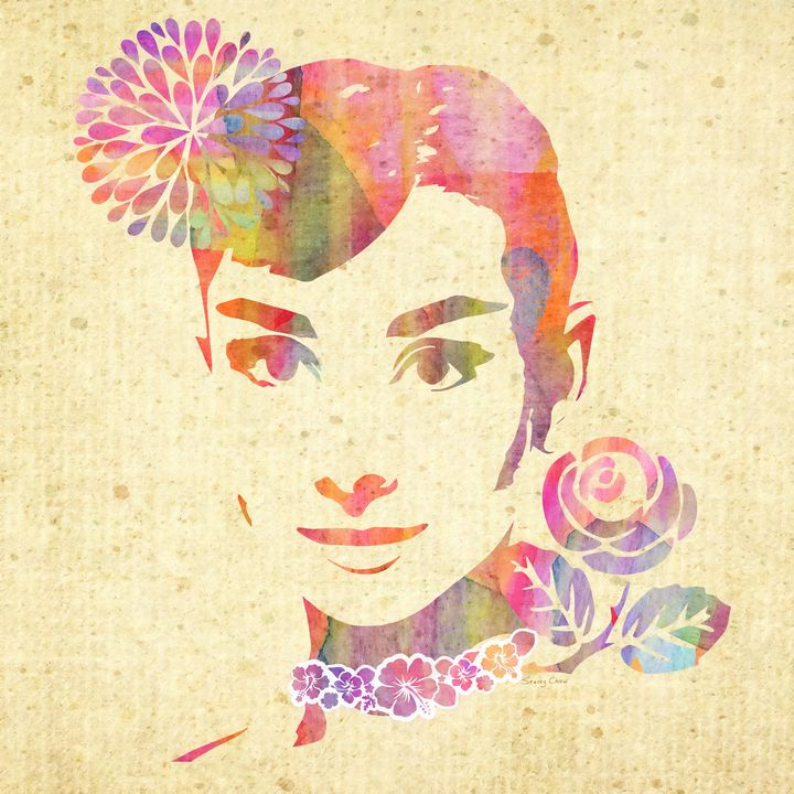 My Fair Lady ~ Audrey Hepburn - Stacey C Art