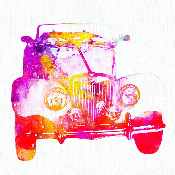 Antique Car - Stacey Art Prints