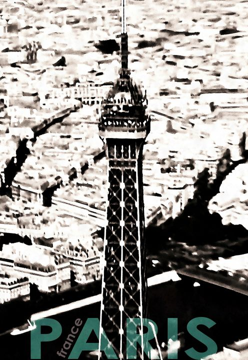 Love In Paris - Stacey C Art