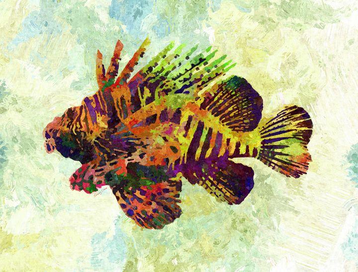 Lionfish - Stacey C Art