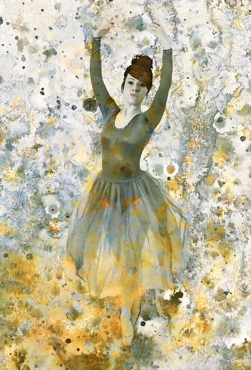 Ballerina Girl - Stacey Art Prints