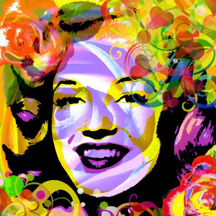 Beautiful Marilyn Monroe - Stacey Art Prints