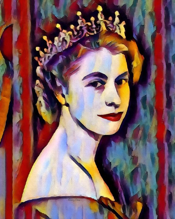 Elizabeth II - Stacey Art Prints
