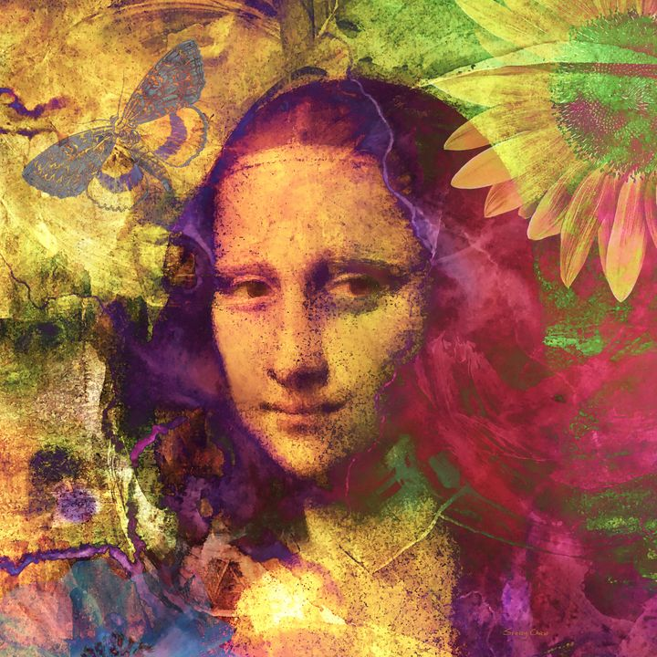 Mona Lisa Dreaming - Stacey Art Prints
